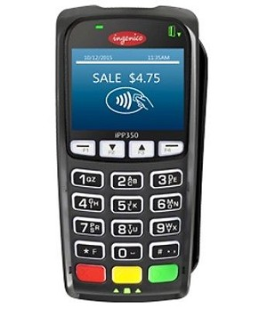iPP350 DATACAP bundle Includes Ingenico iPP350 EMV/Contactless PIN Pad, Communication Cable, file loads, key injection & DATACAP forms package