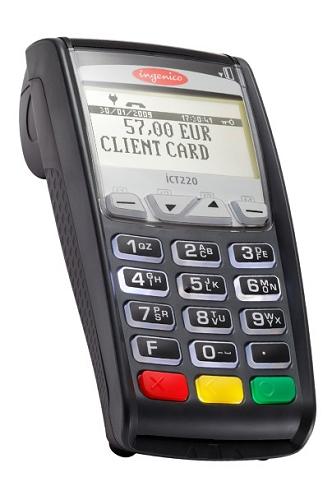Ingenico iCT220 DC, EMV, Non-NFC 11P2196A V3.0