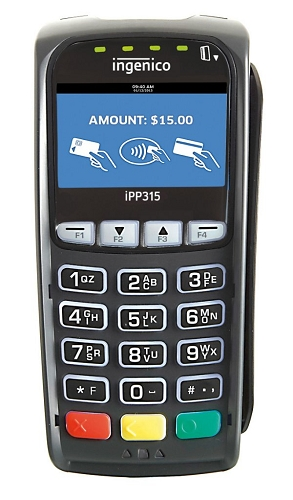 Ingenico iPP315 is PCI-PTS 4. EMV MSR NFC CTLS Ingenico iPP315 is PCI-PTS 4. EMV MSR NFC CTLS – USB TO DESK & iCT SERIES