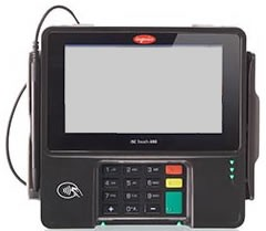 Shift4 iSC480 USB Bundle includes Pin Pad, USB Cable, Power Supply, File loads and Encryption