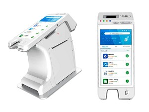 PAX A60 Android Mobile Device  A60-0AW-RD5-01EA  with BP60 A60 Docking Station with Printer BP60A-C2-1EA