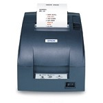 Epson TM-U220 C31C514767 ETHERNET DOT MATRIX RECEIPT PRINTER, EPSON DARK GRAY, AUTOCUTTER, POWER SUPPLY INCLUDED